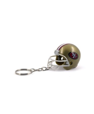 Chaveiro Capacete NFL - San Francisco 49ers