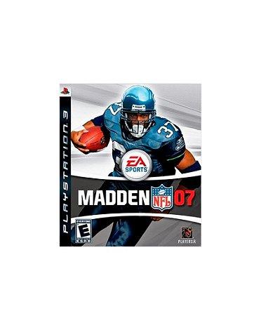 Jogo Madden NFL 07 - Playstation 3 - PS3