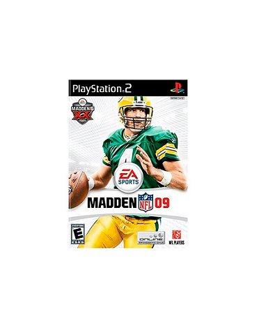 Jogo Madden NFL 09 - Playstation 2 - PS2