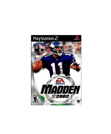 Jogo Madden NFL 2002 - Playstation 2 - PS2