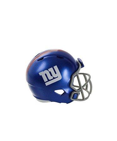 Mini Capacete de Bolso Riddell New York Giants