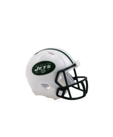 Mini Capacete de Bolso Riddell New York Jets