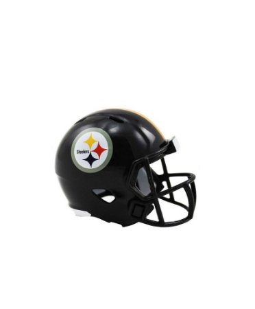 Mini Capacete de Bolso Riddell Pittsburgh Steelers