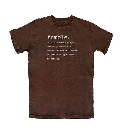 Camiseta PROGear Dictionary: Fumble