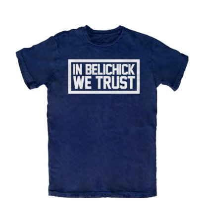 Camiseta PROGear New England In Belichick We Trust