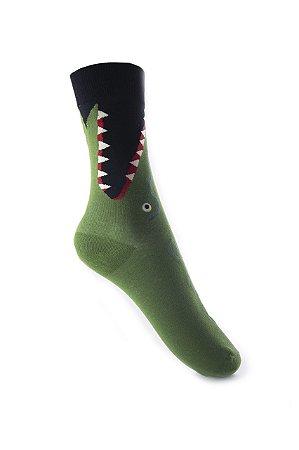 Meia Really Socks Animals Alligator