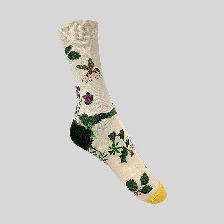 Meia Really Socks Nature Bee