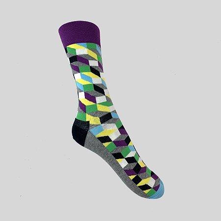Meia Really Socks Classic Mescla