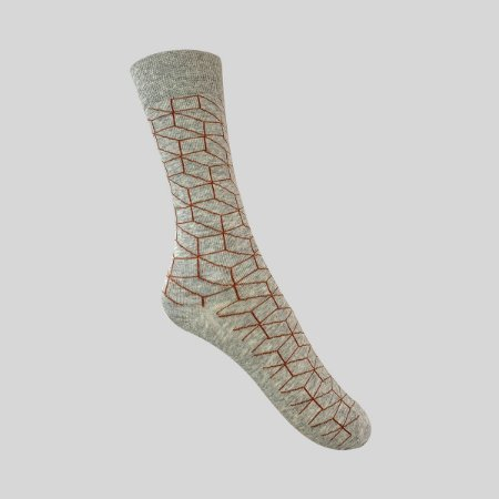 Meia Really Socks Geometric Mescla