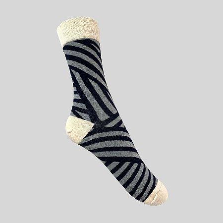 Meia Really Socks Shapes Mescla