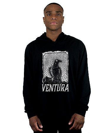 Blusa Ventura Crow Preto