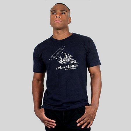 Camiseta Bleed American Interstellar Azul Marinho