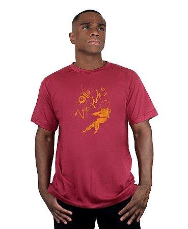Camiseta Bleed American Vostok Vinho