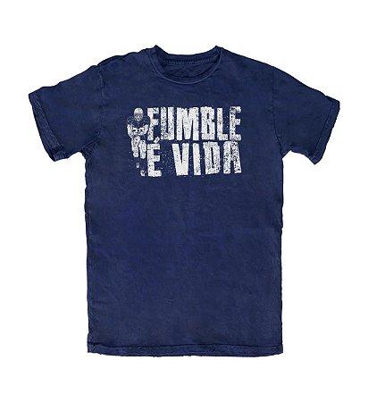 Camiseta Everaldo Marques Fumble É Vida Marinho