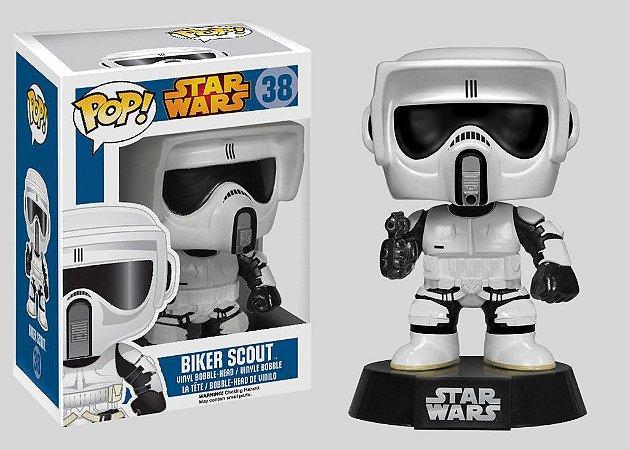 Funko Pop! Star Wars Biker Scout #38