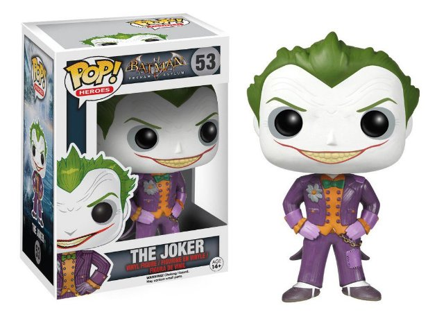 Funko Pop! DC Universe: Arkham Asylum - The Joker
