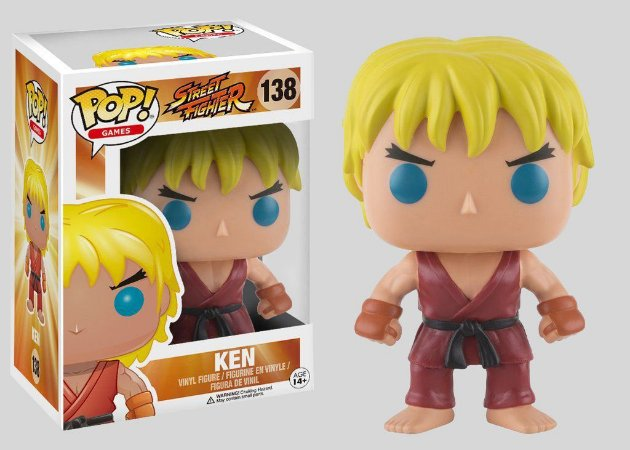 Funko Pop! Street Fighter: Ken #138