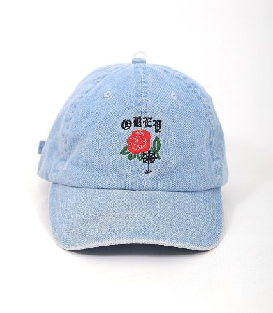Boné Six Panel Obey Spider Rose