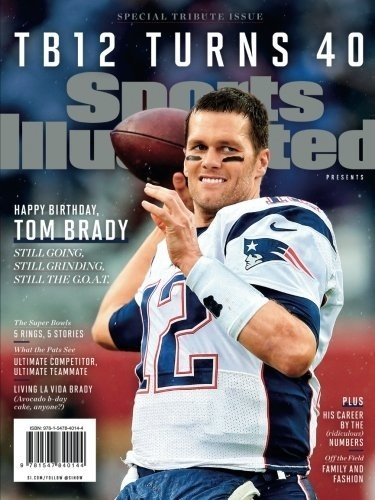 Revista Edição Especial - Sports Illustrated Tom Brady Turns 40