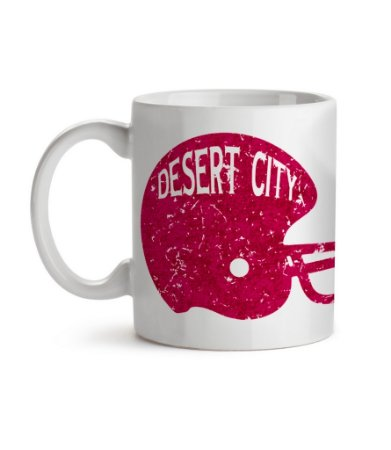 Caneca Helmet Arizona Desert City Branca