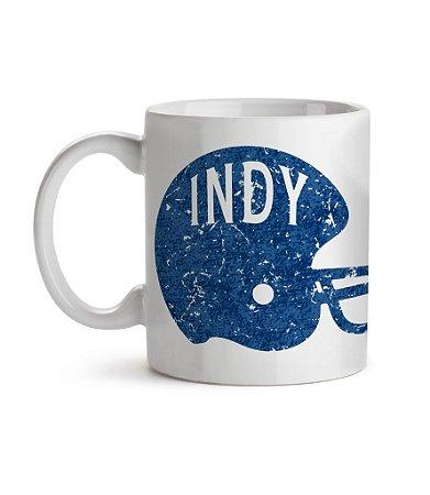 Caneca Helmet Indianapolis Indy Branca