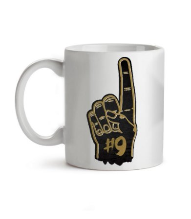 Caneca Number One New Orleans Branca