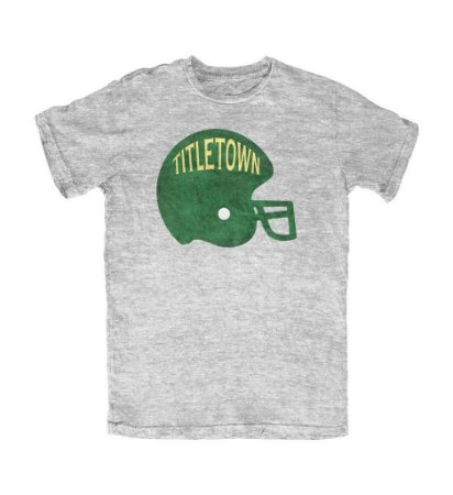 Camiseta PROGear Green Bay Packers Helmet Tittletown