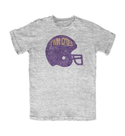 Camiseta PROGear Minnesota Vikings Helmet Twin Cities