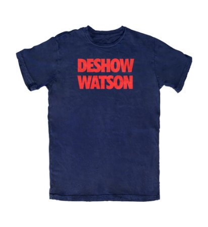 Camiseta PROGear Houston Texans Deshow Watson
