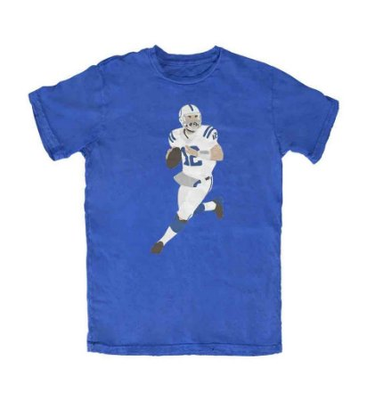 Camiseta PROGear Silhouette Andrew Luck