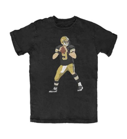 Camiseta PROGear Silhouette Drew Brees