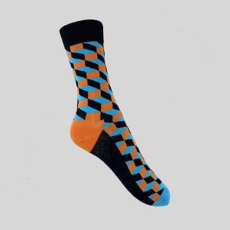 Meia Really Socks Classic Preto