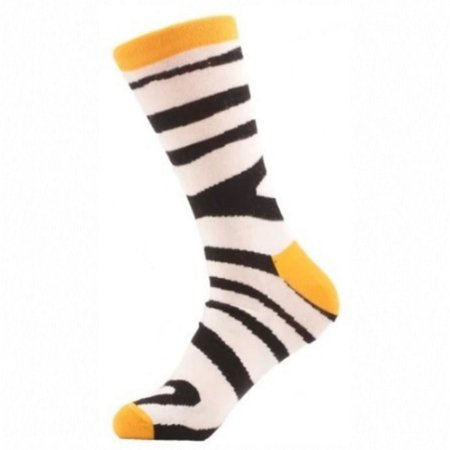 Meia Really Socks Animal Print Zebra