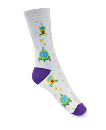 Meia Really Socks Space To the moon