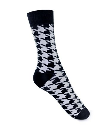 Meia Really Socks Classic Pied de poule