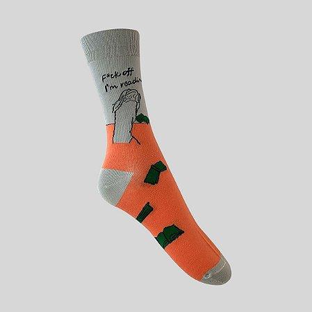 Meia Really Socks Do it F*ck off