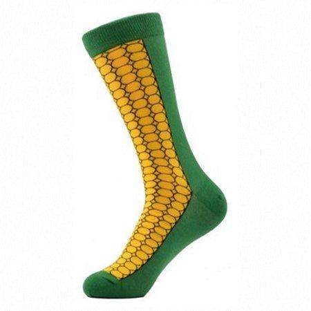 Meia Really Socks Food Corn