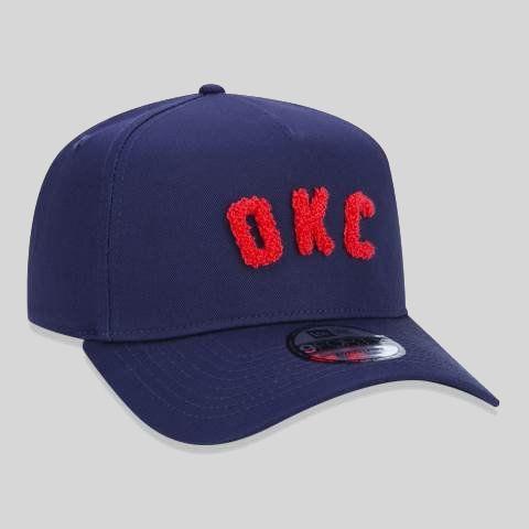 Boné New Era NBA Oklahoma City Thunder Color Zones Initials