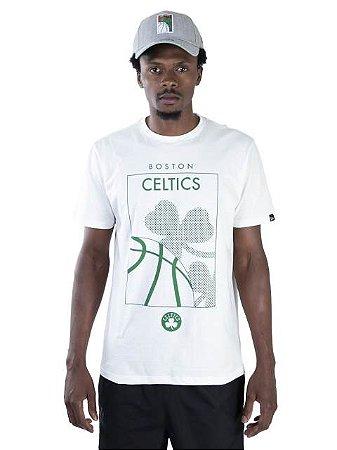 Camiseta NBA New Era Boston Celtics Essentials Ac Square
