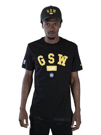 Camiseta NBA New Era Golden State Warriors Essentials Ac Team