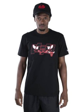 Camiseta NBA New Era Chicago Bulls Essentials Sp Five