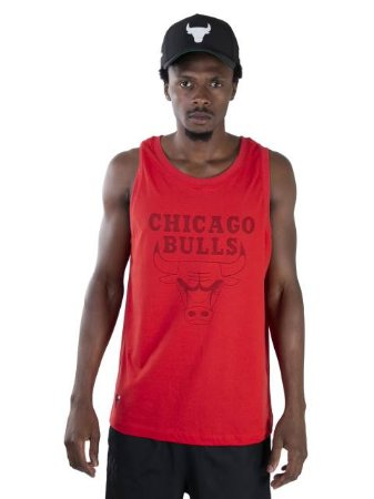 Regata New Era NBA Chicago Bulls Essentials Ac Color On Color