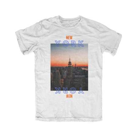 Camiseta NBA New York City Preto