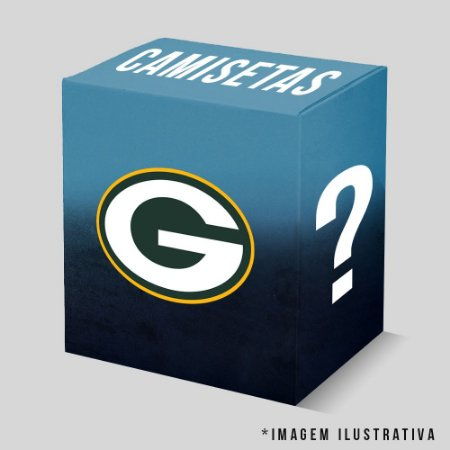 Kit - 3 Camisetas Green Bay Packers