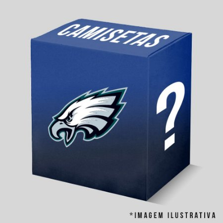 Kit - 3 Camisetas Philadelphia Eagles