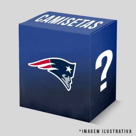 Kit - 3 Camisetas New England Patriots