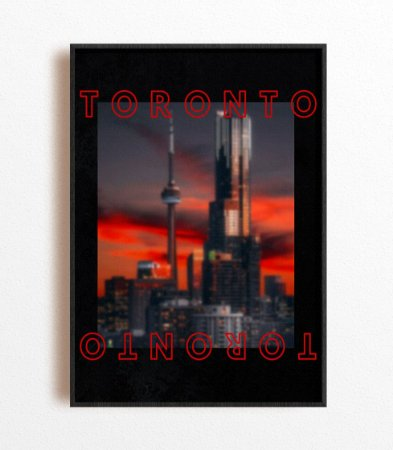 Poster NBA Toronto City