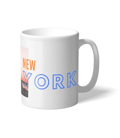 Caneca NBA New York City