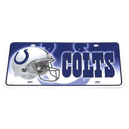 Placa Decorativa Indianapolis Colts