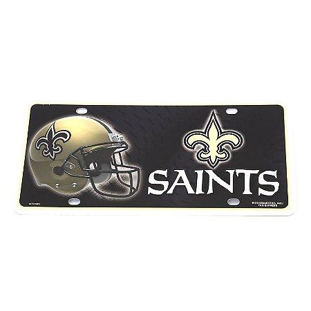 Placa Decorativa New Orleans Saints